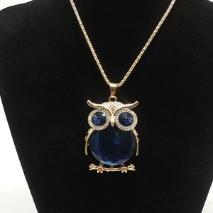 Jewelry - Beautiful BOHO Owl Pendant